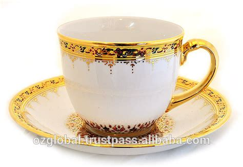 Handcrafted Coffee - royal thai benjarong handcrafted coffee cup with gold