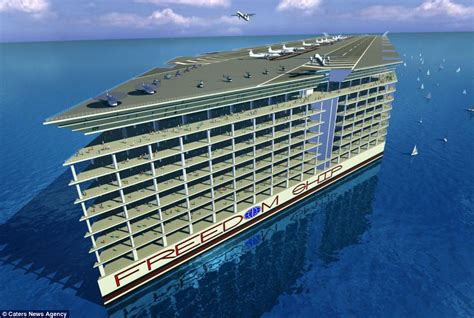 how long is the biggest boat in the world the incredible mile long floating city complete with