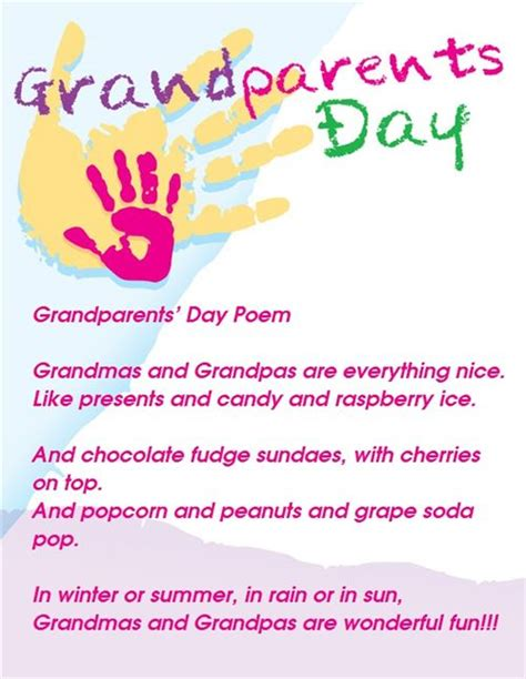 printable grandparent quotes grandparents day poems and quotes quotesgram