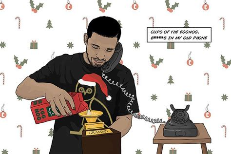 Christmas Card Meme - share your holiday spirit with these drake themed holiday cards sneakhype