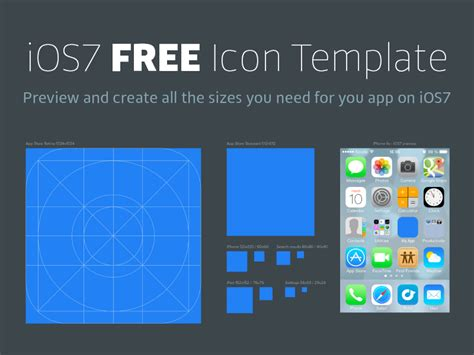 25 Best Ios App Icon Templates To Create Your Own App Ios App Icon Template