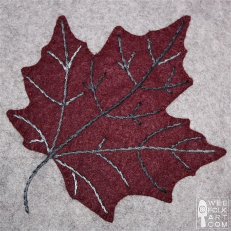 leaf applique maple leaf applique block wee folk