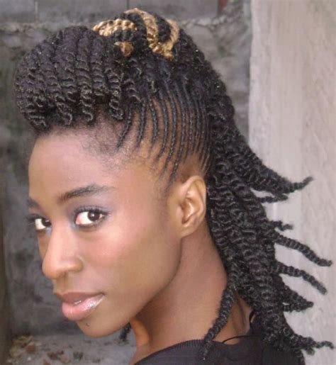 african american hairstyles who has hair on 1side short on other mohawk hairstyles for black women braided mohawk