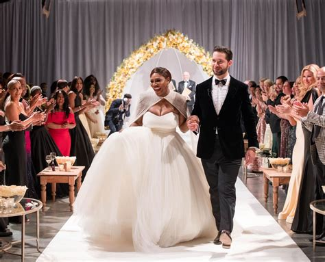 New Wedding Pictures by Serena Williams And Ohanian Wedding Pictures