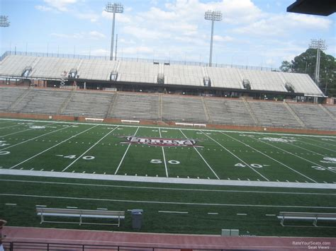 section 8 troy al troy memorial stadium section 108 rateyourseats com