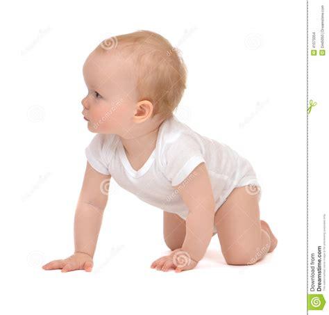 baby in crawling kid infant infant child baby toddler sitting crawling backwards happy smili stock photo image 41073354