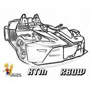 Ktm Motorbike Colouring Pages Page 2