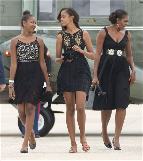 first family obama the gallery for gt sasha obama height 2014