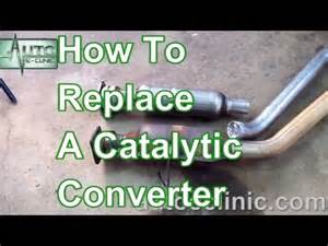 P0420 Chrysler How To Replace A Catalytic Converter Chrysler Town