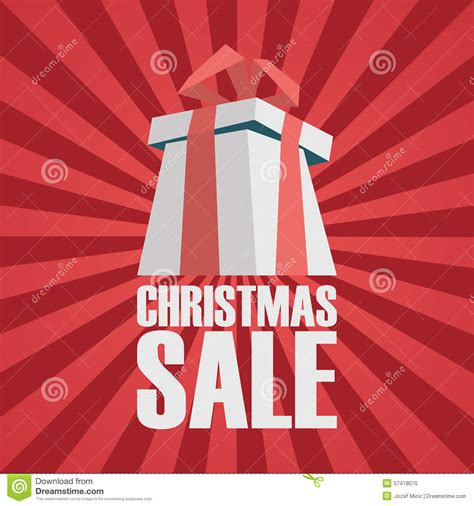 christmas story l sale big sale advertising phrase made with 3d retro style