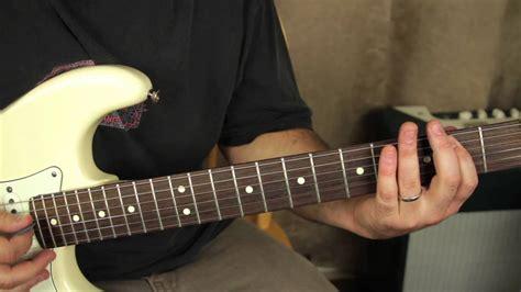 stevie ray vaughan pride  joy   play  guitar tutorial opening youtube