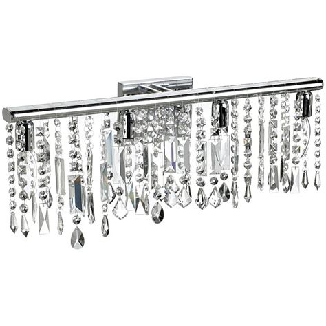 crystal bathroom vanity light fixtures 4 light chrome crystal wall sconce bathroom vanity fixture