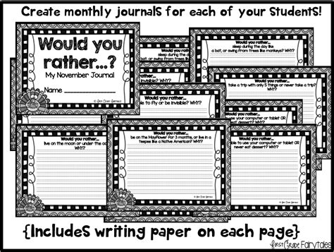 printable journal pages for first grade first grade fairytales journal writing for critical