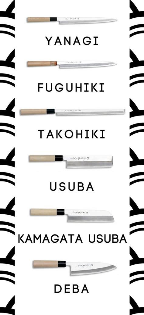 Types Of Japanese Kitchen Knives Best 20 Kitchen Knives Ideas On Knife Storage Kitchen Storage And Outdoor Knife