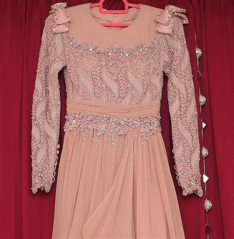 Baju Anak Perempuan Set Dress Lace Pink dress dress dress baju nikah mostly from fuzana mokhtaza