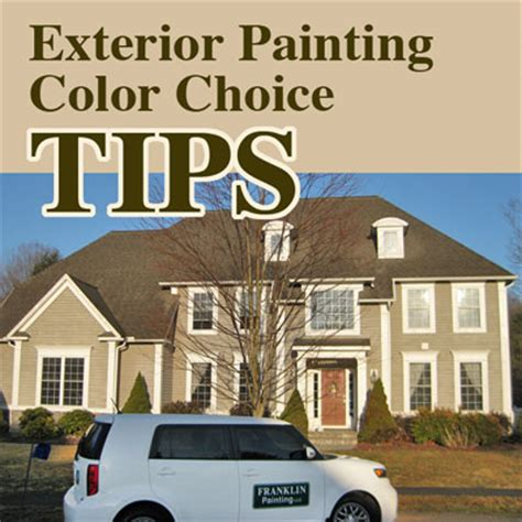 how to paint your house choosing color for exterior house painting in ct