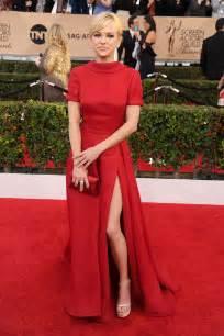 roter teppich kleider faris formal carpet dress sag awards 2016