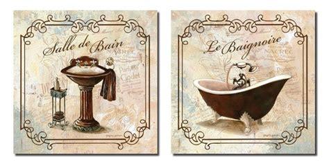 vintage bathroom printables paris wall decor