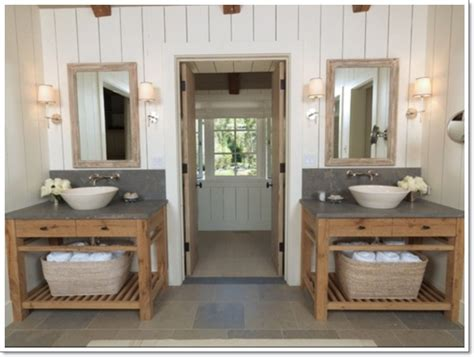 vanity house 42 ideas for the rustic bathroom design