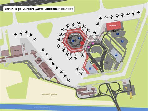 tegel terminal e file airport map txl en svg wikimedia commons