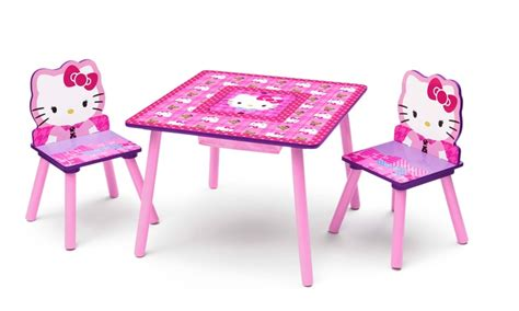 childrens table and chair set with storage delta children s licensed 3pc table and chair set with