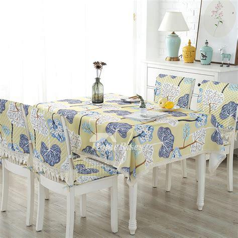 greenyellowbrown cotton linen tablecloth squareoblong