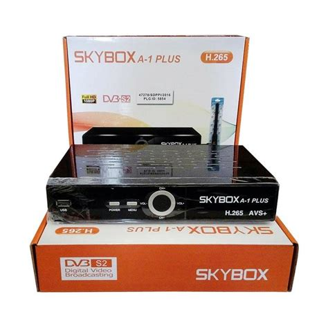 jual skybox a1 plus dvb s2 satellite tv set top box h 265