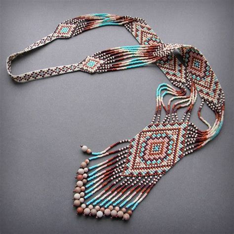 23 best images about bead loom necklaces on