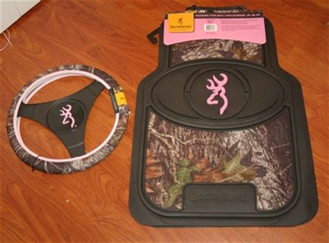 Browning Pink Floor Mats by Pink Browning Buckmark Mossy Oak Camo Floor Mat Set Plus