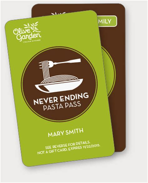 olive garden year pass another year of never ending pasta math