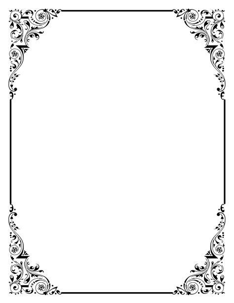 Wedding Scroll Border by Scroll Border Clip 23
