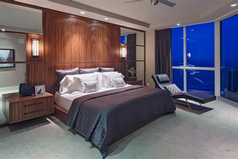 fort lauderdale luxury residence contemporary bedroom
