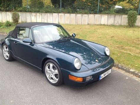 porsche 964 cabriolet for sale 1991 porsche 911 964 cabriolet for sale