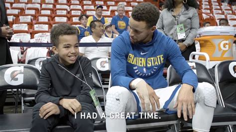 stephen curry fan all access stephen curry meets fan