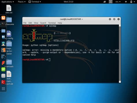 tutorial sqlmap di kali linux sqlmap tutorial sql injection to hack a website and