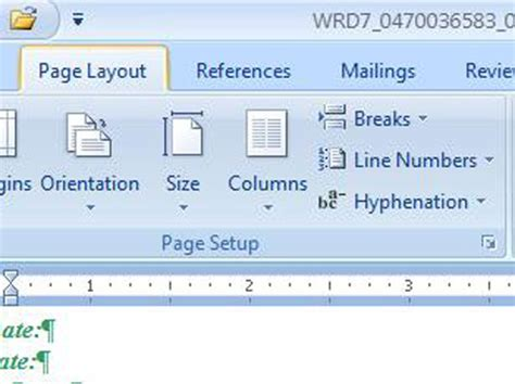 page layout ribbon word 2007 how to add background color to your page in word 2007