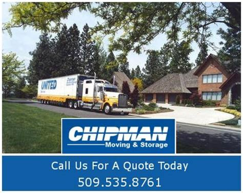 chipman moving storage spokane inc in spokane wa