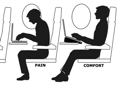 if you lean your seat back this far on flights then