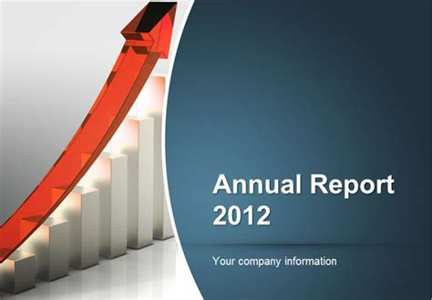 How To Make An Annual Report Using Powerpoint Templates Free Financial Powerpoint Templates