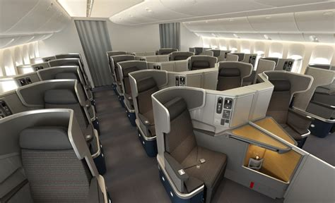 american airlines shows new boeing 777 300er interior