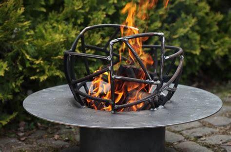 garten feuer feuerschale aus stahl wundersch 246 nes gartenfeuer f 252 r