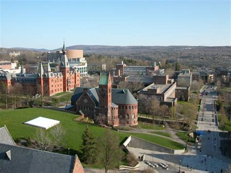 Cornell 1 Year Mba Nyc by File View Of Ithaca Ny From Tower Of Cornell