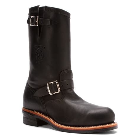 chippewa boots for chippewa 27899 11 inch engineer boot st in black for