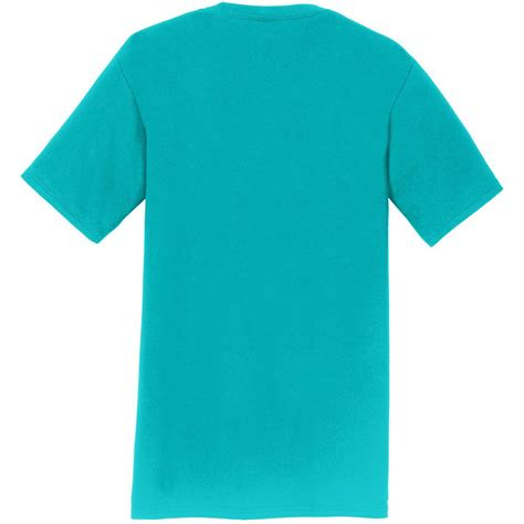 port and company fan favorite tee port company pc450 fan favorite tee bright aqua