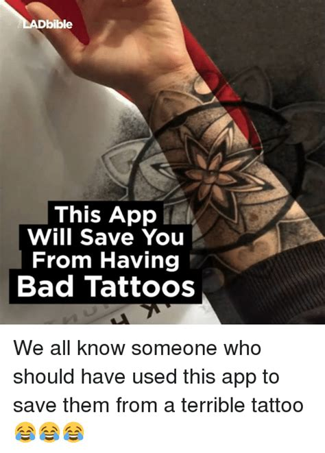 bad tattoo meme bad facepalm meme on me me