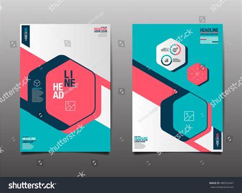 layout design vector template design layout brochure flyer geometric stock