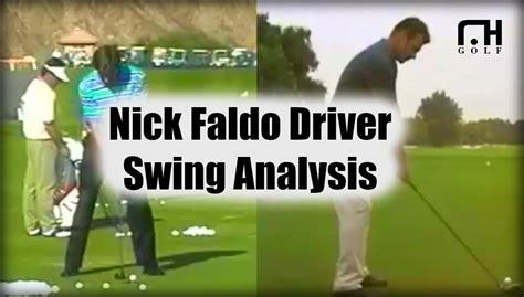 nick faldo swing nick faldo swing analysis youtube