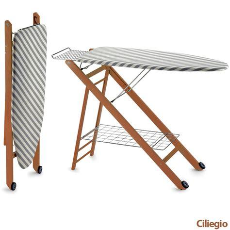 tavola stiro tavola da stiro regolabile in tre altezze realizzata in