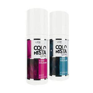 loreal hair color spray l oreal colorista 1 day spray hair color ebay