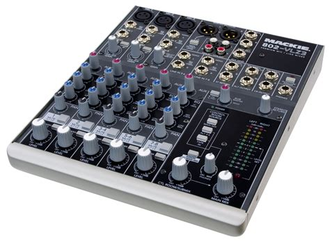 Mixer Mackie 6 Channel mackie 802 vlz3 ultra compact mixer zzounds